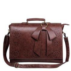 Promation! Hot! Women Vintage Messenger Basg Women PU Leather Handbags Lady Ladies Casual Shoulder Bag Briefcase Bags