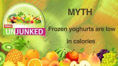 Food Myth || Frozen Yoghurt Is Low In Calories