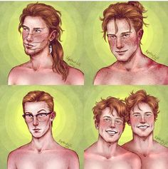 The Weasley brothers