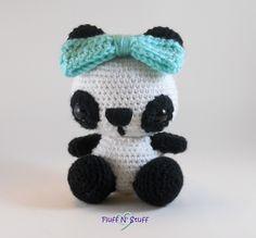 Kawaii Panda Amigurumi - Made by Sailor Mini Muffin!