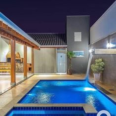 Design and designers - Home Decor Ideas! Swimming Pools Backyard, Swimming Pool Designs, Pink Home Decor, Outdoor Spaces, Outdoor Decor, Dream Pools, Farmhouse Homes, Shop Interior Design, Patio