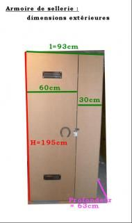 Armoire de sellerie : les dimensions pour les bricoleurs ! scapounette / Chevaux