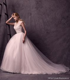 LM by Lusan Mandongus 2015 #Wedding Dresses | Wedding Inspirasi #bridal #weddings #weddinggown #weddingdress