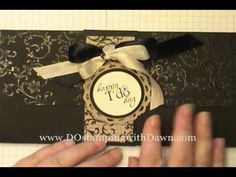 DOstamping Celebrates Day #2: Wedding Photo Wallet Mini Album Video - DOstamping with Dawn, Stampin' Up! Demonstrator
