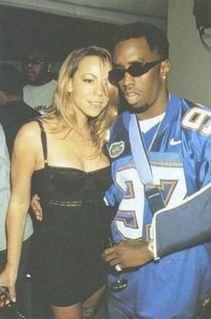 Puff Daddy and Mariah carey