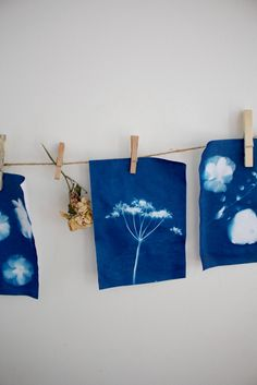 I've been meaning to share this beautiful nature-inspired craft with you for over a year now but I keep forgetting to snap photos of the process when the kids and I make them! We had a few hours to