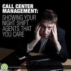 If you manage your own team of night shift #CallCenter agents, it's your responsibility to prevent any form of stress from affecting their productivity. Show them that you care, here's how!