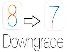 Downgrade ios 8 To ios 9