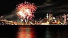 San Francisco Fireworks Cruise @ Pier 43 1/2 (San Francisco, CA)