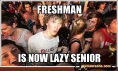 Sudden Clarity Clarence: freshman...