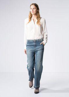 MARC O'POLO, Damen, Bekleidung, Jeans, Jeans - Modell Åre, im Loose Fit