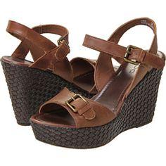 Aldo Reiley leather wedge sandals