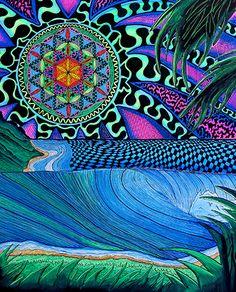 Artist Profile: Surf artist Sam Bernal. See his work at www.ArtsBusinessInstitute.org
