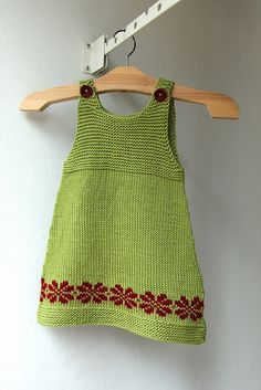Ravelry: Project Gallery for Green Apple pattern by Monika Sirna Crochet Baby Jacket, Knit Baby Dress, Baby Dress Patterns, Skirt Patterns, Coat Patterns, Blouse Patterns, Sewing Patterns, Knitting For Kids, Baby Knitting