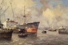 Maashaven Rotterdam een prachtig kunstwerk van Marius de Jongere