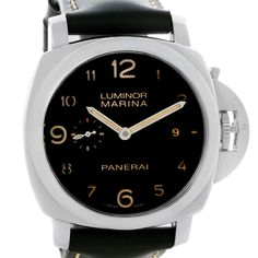 Panerai Luminor Marina 1950 44mm Mens Watch PAM359 PAM00359 Box Papers