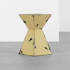 Karl Springer; Lacquered Wood Occasional Table, c1975.