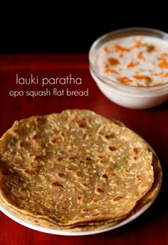 lauki paratha recipe. no onion no garlic whole wheat flat breads made with dudhi/opo squash.