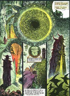 Philippe Druillet illustrated Elric le Necromancien