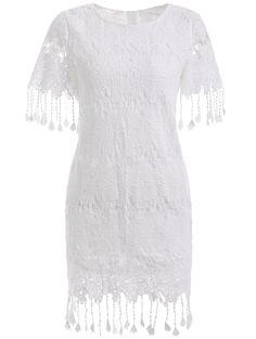 boho dress with fringe
