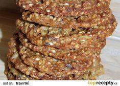 Zdravé sušenky recept - TopRecepty.cz Pork, Meat, Cookies, Pork Roulade, Biscuits, Pigs, Cookie Recipes, Cookie, Cake