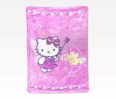 Hello Kitty Throw Blanket: Fairy Sweet Home Design, Pillow Talk, Sanrio, Hello Kitty, Fairy, Kawaii, Throw Pillows, Cute, Girl Stuff