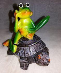 Frog on Turtle