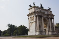 Fay City Diaries' first destination: Arco della Pace. http://www.fay.com/it/city-diaries/milano