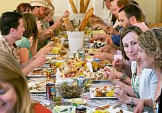 TABLE SETTING FOR CRAB BOIL - Google Search