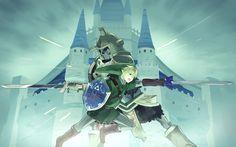 Link vs Hero's Shade