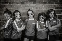"""""""Strong is the New Pretty"""" is a new photo series by Kate Parker which shows her two daughters and their friends """"just as they are: loud, athletic, fearless, messy, joyous, frustrated. I wanted to celebrate them, just as they are, and show them that is enough.  Being pretty or perfect is not important. Being who they are is."""""""