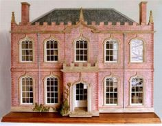Classic English Gothick Dollhouse - Mulvany & Rogers