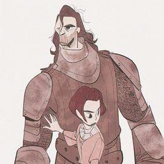 Arya and the Hound || Bobby Pontillas