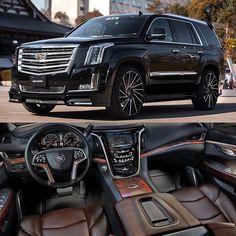 """Blacked Out Cadillac Escalade on - AutoCar - automobil Maserati, Bugatti, Ferrari, Lamborghini, Cadillac Escalade, Cadillac Ats, Suv Trucks, Suv Cars, Diesel Trucks"