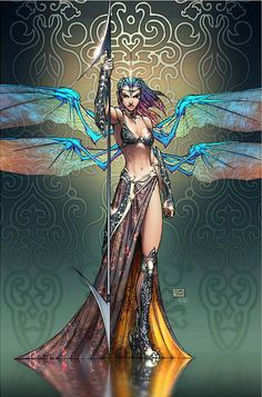 Grace, Soulfire. Concept and art by Michael Turner [fae]