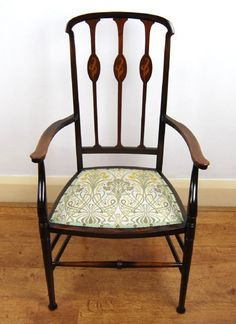 Rocking Chair, Art Nouveau, Accent Chairs, Antiques For Sale, Elegant, Tiffany, Furniture, Things To Sell, Places