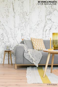 3 different styles with one grey sofa + win the sofa