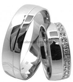 SVADOBNÉ OBRÚČKY OB-647 Wedding Bands, Rings For Men, Engagement Rings, Jewelry, Weddings, Diamond, Enagement Rings, Men Rings, Wedding Rings