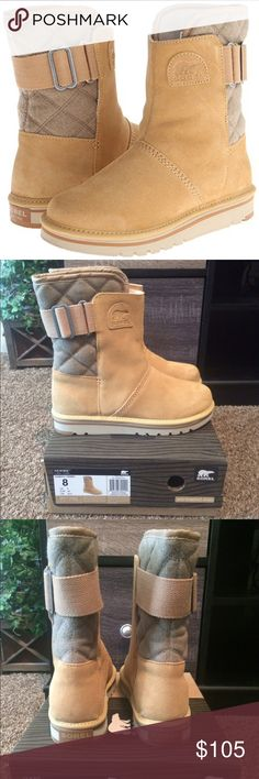"*NEW* SOREL women's campus boot THESE ARE A MUST FOR WINTER! Suede Leather/Polyurethane Leather. Synthetic sole. Shaft measures approximately 9"" from arch. Boot opening measures approximately 13"" around. UPPER: Water resistant suede leather with felt. Fleece lining.. Sorel Shoes Winter & Rain Boots"