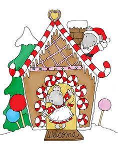 The Mousie's Gingerbread Housie