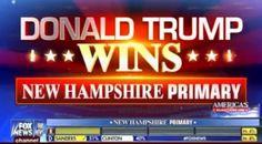 BREAKING: TRUMP WINS NEW HAMPSHIRE – FOX News Calls It Early (VIDEO)