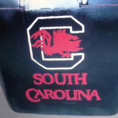 Columbia sc city map wall poster university of south carolina part of a cooler i have painted negle Image collections