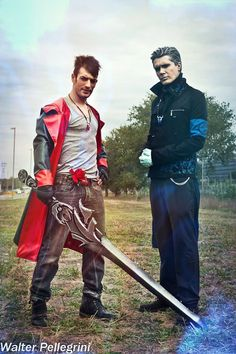 Dante & Vergil - DmC Cosplay 'A New Journey.'  Goodevening my friends!!! Missed Vergil?  I don't know you, but I missed him a lot!!! My best friend Philippe Lauby Cosplay is...