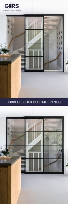 Aluminium Deur, Iris, Amsterdam, House Ideas, Stairs, Style Inspiration, Living Room, Interior, Furniture