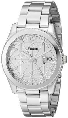 Fossil Perfect Boyfriend Quartz Analog Date Stainless Steel Special Edition Watch# ES3727 (Women Watch)