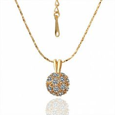AEKK 18K Gold Plated Necklaces fashion jewelry'  Adjustable Ring