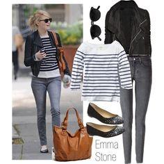 emma stone casual outfits | Emma_stone