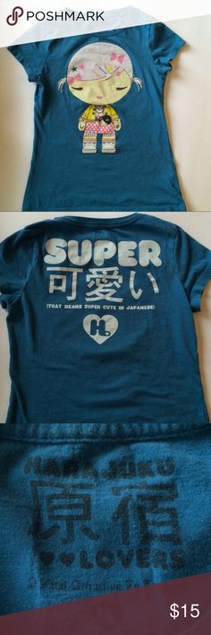 Vintage Authentic Harajuku Lovers Tee Vintage Harajuku Lovers Baby Tee. Previous loved. Shirts & Tops Tees - Short Sleeve