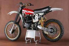 Vintage Yamaha dirt bike