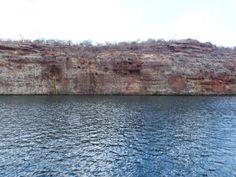 Cânion do Xingó, no rio São Francisco, no município sergipano de Canindé do São Francisco, divisa com Piranhas, Alagoas.